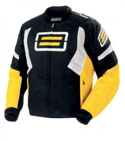 SHIFT Super Street Textile Jacket Yellow