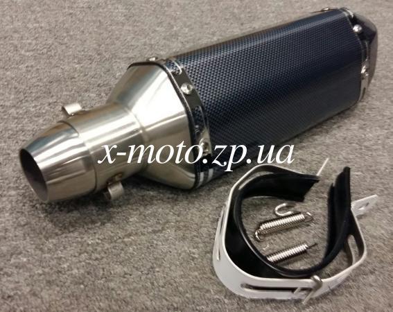Глушитель прямоток Akrapovic N2