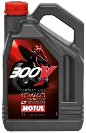 300V 4T FACTORY LINE SAE ROAD RACING 10W40