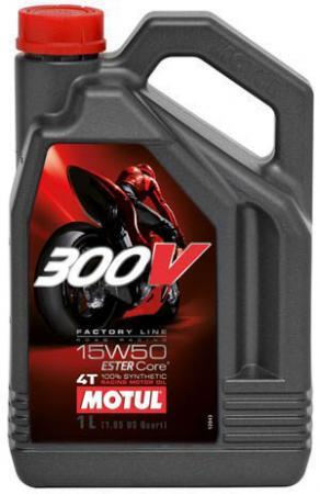 300V 4T FACTORY LINE ROAD RACING SAE 15W50