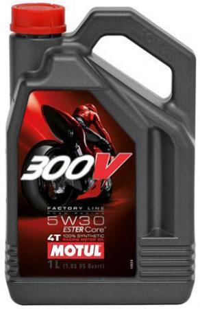 300V 4T FACTORY LINE ROAD RACING SAE 5W30