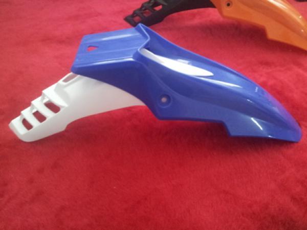 Как сделать крылья на кроссовый мотоцикл