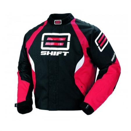 SHIFT Moto R Textile Jacket Red