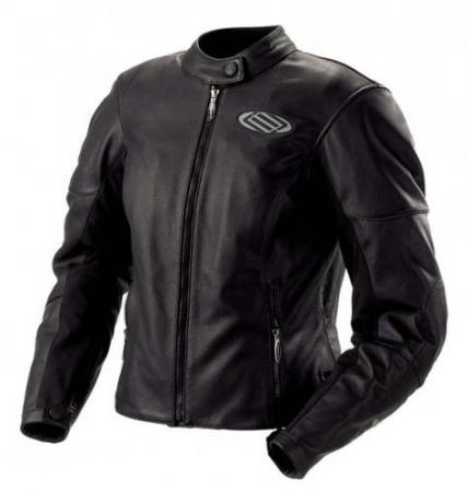 SHIFT Womens M1 Leather Jacket Black