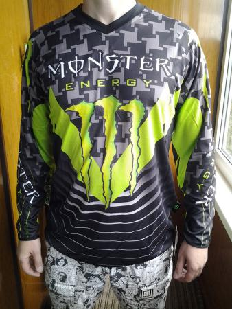 Джерси Monster Energy