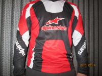 Джерси Alpinestars MX Red